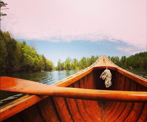 Canoeing in Haliburton