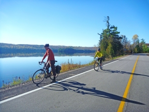 Roadside attraction. Gorman Lake, On